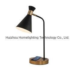 Jlt-9301 lampe moderne tâche tête réglable avec Qi charge sans fil