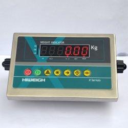 X3RM de wegende Indicator van de Schaal van het Gewicht van de Indicator van het Gewicht van de Indicator Eind