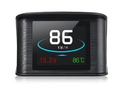 Strumento diagnostico del calibro di temperatura del consumo di combustibile della visualizzazione del tachimetro di Digitahi del proiettore di velocità dell'automobile del calcolatore di Vjoycar Hud GPS OBD