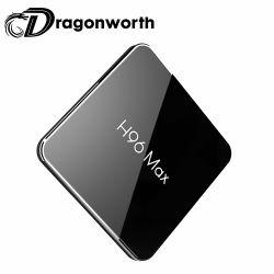 マルチメディアのゲートウェイのインターネットのOtt人間の特徴をもつCPU YoutubeのためのBtのメディアプレイヤーH96最大S905X2 4G 64G IPTV人間の特徴をもつTVボックスアンドロイド8.1のスマートなメディアプレイヤー