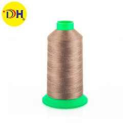 100% poliéster de alta tenacidad de hilos de coser150D/3 150g para accesorios de prendas de vestir