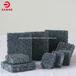 O filtro de espuma de silicone para a Fundição/Fusão/o refratário