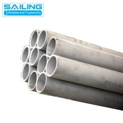 TP304 TP304L Welded Tube en acier inoxydable pour le liquide du tuyau de convoyage