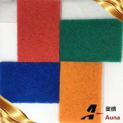 부엌 사용을%s 강력한 청소 다채로운 닦는 패드