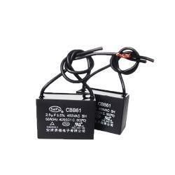 起動モーター実行のためのワイヤーコンデンサーとのCbb61ファン