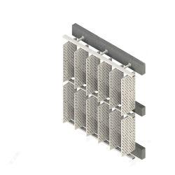 Fenêtre d'aile en aluminium réglable d'ombrage des lames du panneau d'aération