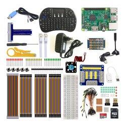 25 Tipos de peças a framboesa Pi 3 Teclado Ultimate Kit de Aprendizagem