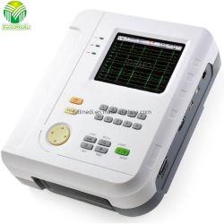 Tela de Toque Digital Portátil 12 Channel eletrocardiograma eletrocardiograma ECG de 12 derivações de ECG da máquina-1200B
