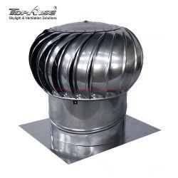 탑라이즈 레지던스 월풀/지붕 환기 장치 알루미늄 합금 터빈 지붕 환기