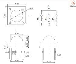 عاديّة مهبط [5مّ] مستديرة [رغب] فائقة تدفّق [لد] مصباح مع تدفّق عادية