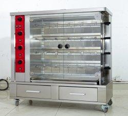 電気ガスのレストランキャビネットのバスケットの台所装置が付いている BBQ Rotisserie