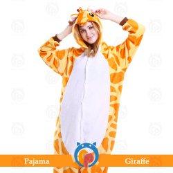 De fábrica directamente vender animales jirafas Cosplay Carnaval disfraz para adulto