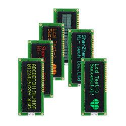 モノクロ文字OLED LCD表示のモジュール16 Pin 6800 4/8ビット平行Spi 3/4ワイヤーI2cシリアルスクリーン16X2 LCD