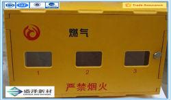 ガラス繊維の燃料ガスのメートルボックスFRP燃料ガスのメートルボックスGRP燃料ガスのメートルボックスガラス繊維SMCボックスFRP SMCボックス製造業者GRP SMCボックス