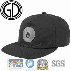 Простая печать логотипа цвета смешанных неструктурированных плоские Snapback Red Hat