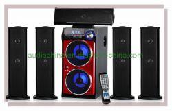Nouveau modèle haut-parleurs audio Home Cinema 5.1 canaux FM SD USB