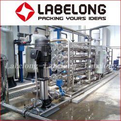 Le traitement des eaux industrielles/emballés Usine de traitement de l'eau potable