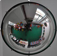 Полный купол безопасности сферические зеркала зеркало заднего вида