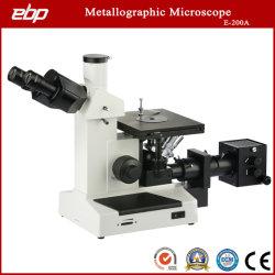 Instrumento óptico microscopio trinocular invertida de Industriales Metalúrgicos