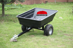 Het Plastic Dienblad van de Aanhangwagen ATV (de aanhangwagen van de Tuin)