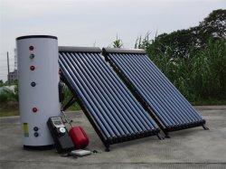 خزان عمودي سعة 300 لتر لتخزين المياه الساخنة بالطاقة الشمسية مع تسخين ملف التبادل
