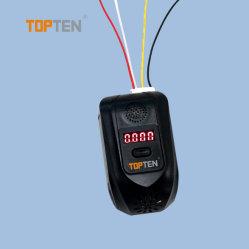 Tamanho Mini Fácil Instalação Álcool Sensor de gás com Sistema Automático de Alarme Boradcast--EF