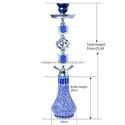 De klassieke Chinese Stijl barstte de Ceramische Waterpijp van de Slang van de Waterpijp Dubbele