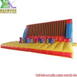 Cinta de magia barata Palo hinchables de salto de pared de escalada de pared Pared pegajosa a la venta