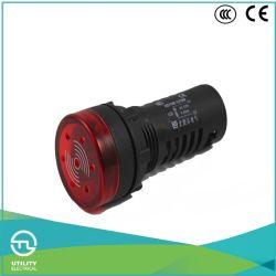 Sinal sonoro de flash de LED UTL para o Dia22mm orifício de instalação