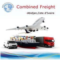 expédition par conteneur, combinée à l'air Abidjin mer Cote d Ivoire de la logistique