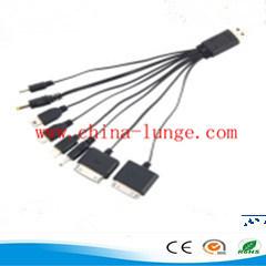 8 en 1 Câble de recharge USB