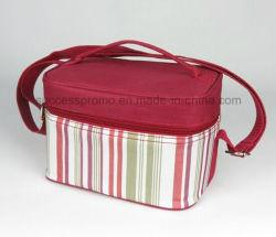 حقيبة مخصصة خارجية مشعورة مخصصة للنزهات، حقيبة غداء، كيس تبريد