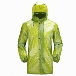 流行の働くレインコートの単一のジャケット
