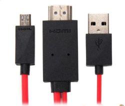 Nouveau micro-USB vers HDMI 1080p HD TV par câble adaptateur pour Samsung Galaxy S3 S4 Remarque2