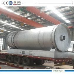 기름을 바르기 위하여 이용된 플라스틱을 재생하는 8 톤 열분해 기계