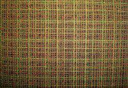 Estirar la lana Blenched Entrelazarán colorido tejido de comprobación