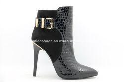 Sexy Tacones altos de la moda de invierno de la mujer botas para dama