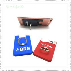 승진 선물을%s 이동 전화 훈장 카드 소매를 위한 주문 로고 형식 이동 전화 스티커 실리콘 카드 홀더