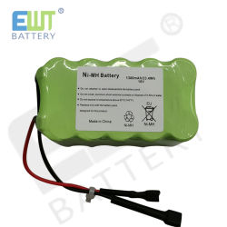 1.300 mAh NiMH 23,4 Wh 18V Bateria com conector de cabo