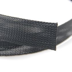 Automotriz de 3mm de malla trenzada expansible Pet Cable Snake Funda para ordenador/Car
