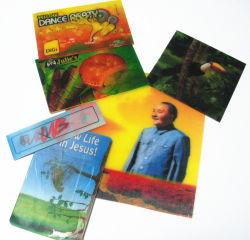 3D Three-Dimensional Lenticular Postcards