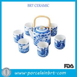 El hueso de la pintura tradicional china juego de té