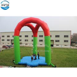 La máxima calidad gorila inflable trampolines Outdoor Juego para estacionar