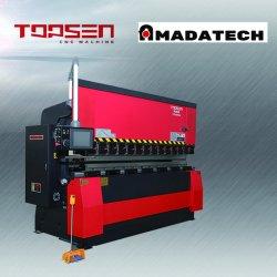 Tipo Amada dobradeira hidráulica 100ton máquina de dobragem CNC para processamento de aço de metal da placa