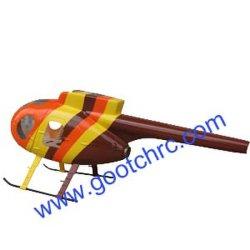 Amarelo na fuselagem Brown (MD500)