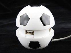 Forma de fútbol 4 puertos USB 2.0 HUB Hub-082 Estilo No.