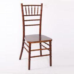 중국 마호가니 솔리드 우드 치아바리 볼룸 웨딩 의자 제조업체