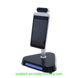 顔認識のカメラの読取装置が付いている8inch温度の測定のスクリーニングIR Theromometerデジタルスクリーン表示熱の探知器