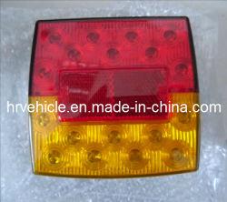 LED lumière carré avec queue, arrêter, indicateur de la fonction de la plaque