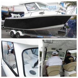 Visite guidée de Sport de loisirs de haute qualité en aluminium de vitesse de bateau de pêche Yacht